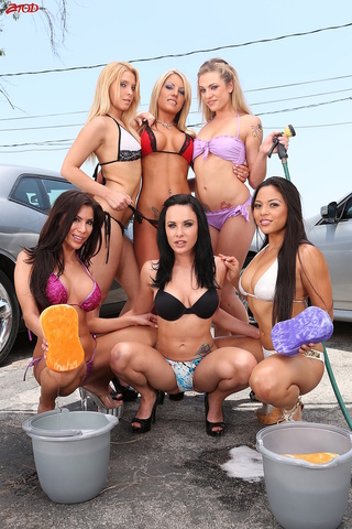super hot carwash sluts