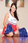 brunette, cheerleader, dick, hardcore