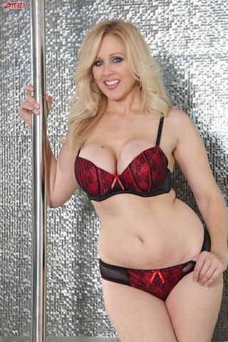 experienced blonde stripper ready