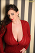 Flirtatious stunning gal with long soft brown hair, brown eyes and suggestive