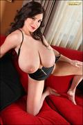 big tits, couch, individual model, tits