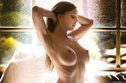 hedonistic girl has pleasure