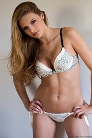 skinny vixen shows off