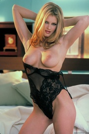 sultry blonde sexy black