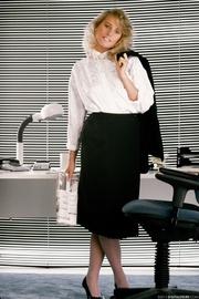 naughty blond secretary shirt