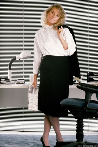 naughty blond secretary shirt