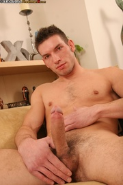 hot dude takes off