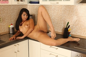 Sweet latina beauty peels her black ling - XXX Dessert - Picture 11