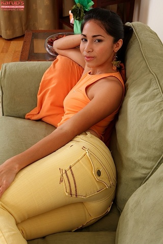 small tittied latina babe