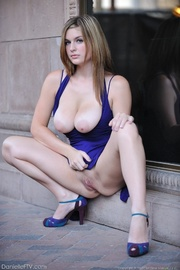 naughty blue dress shows