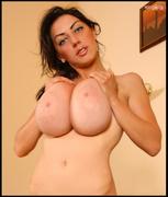bedroom, big tits, brunette, long hair