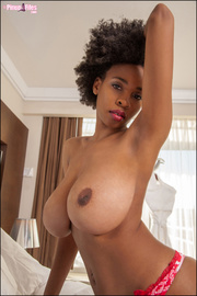 black beauty shows off