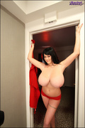 behind the scenes, big tits, naughty, tits