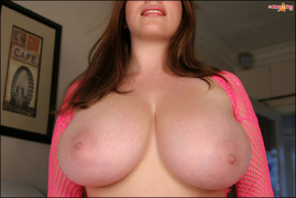 big tits, blonde, dirty, fishnet