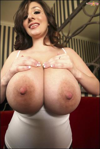 lady big areolas shows