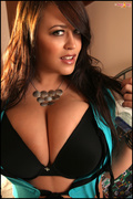 big tits, black, panties, sensual