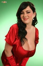 carnal woman enjoys posing