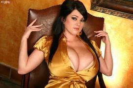 big tits, boobs, satin