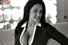 big tits, black, posing, white