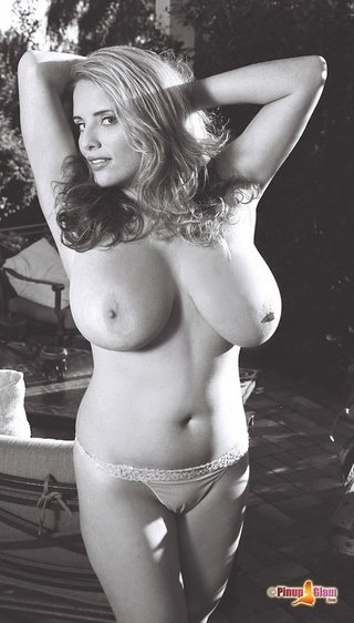 girl huge breasts poses