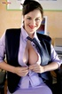 This personal assistant desperately want a raise she she teases her boss