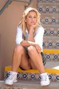 babe, individual model, skirt, white