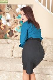 mature lady boss horny