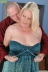 Horny granny enjoys her older cunt getting banged by a younger cock.