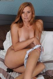 redhead milf naughty maid
