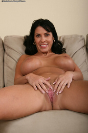 busty milf takes her