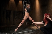 women endure flogging and