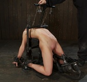 Slim gal with small tits takes on a domineering Master who introduces