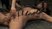 naked mistress arranges two