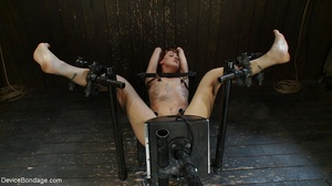 A fuck machine delivers the sex this slu - XXX Dessert - Picture 17
