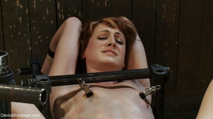 A fuck machine delivers the sex this slu - XXX Dessert - Picture 18