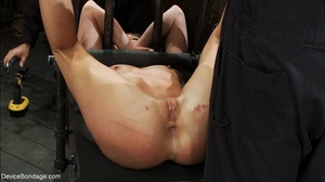 One slave fucks another with a strap-on  - XXX Dessert - Picture 2