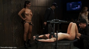 One slave fucks another with a strap-on  - XXX Dessert - Picture 8