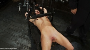 One slave fucks another with a strap-on  - XXX Dessert - Picture 9