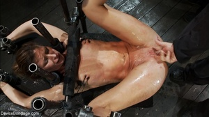 One slave fucks another with a strap-on  - XXX Dessert - Picture 16
