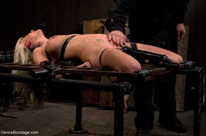 Wax play, breast crushing and involuntar - XXX Dessert - Picture 12