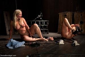 Lesbian ass worship is part of kinky sla - XXX Dessert - Picture 2