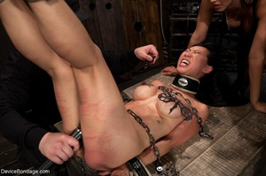 Alluring Asian winces in pain as she end - XXX Dessert - Picture 5