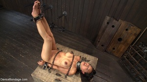 Alluring Asian winces in pain as she end - XXX Dessert - Picture 18