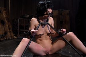 Woman's body is hung upside down and put - XXX Dessert - Picture 4
