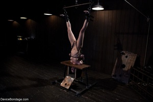 Woman's body is hung upside down and put - XXX Dessert - Picture 14