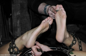 Brunette hates the way her Dom makes her acquiesce to such hardcore treatment. - XXXonXXX - Pic 4