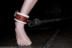Things are definitely worse for a dark-haired slave once she is let out of her small cage. - XXXonXXX - Pic 8