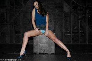 Beauty with model-like good looks takes a wild walk into the weird and wanton world of hardcore BDSM. - XXXonXXX - Pic 2