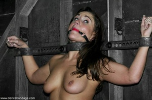 Beauty with model-like good looks takes a wild walk into the weird and wanton world of hardcore BDSM. - XXXonXXX - Pic 8