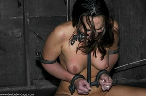 Beauty with model-like good looks takes a wild walk into the weird and wanton world of hardcore BDSM. - XXXonXXX - Pic 17